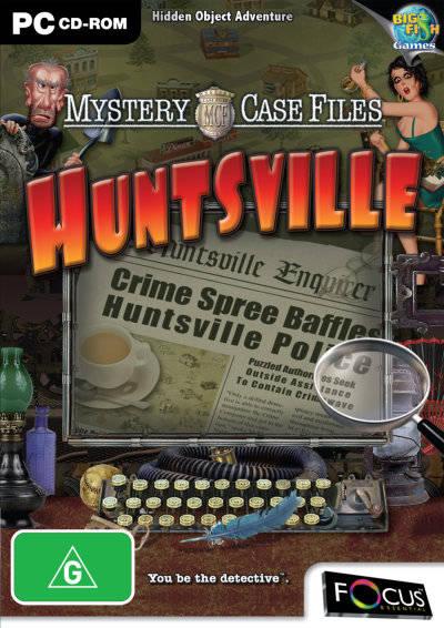 Mystery Case Files: Huntsville cover