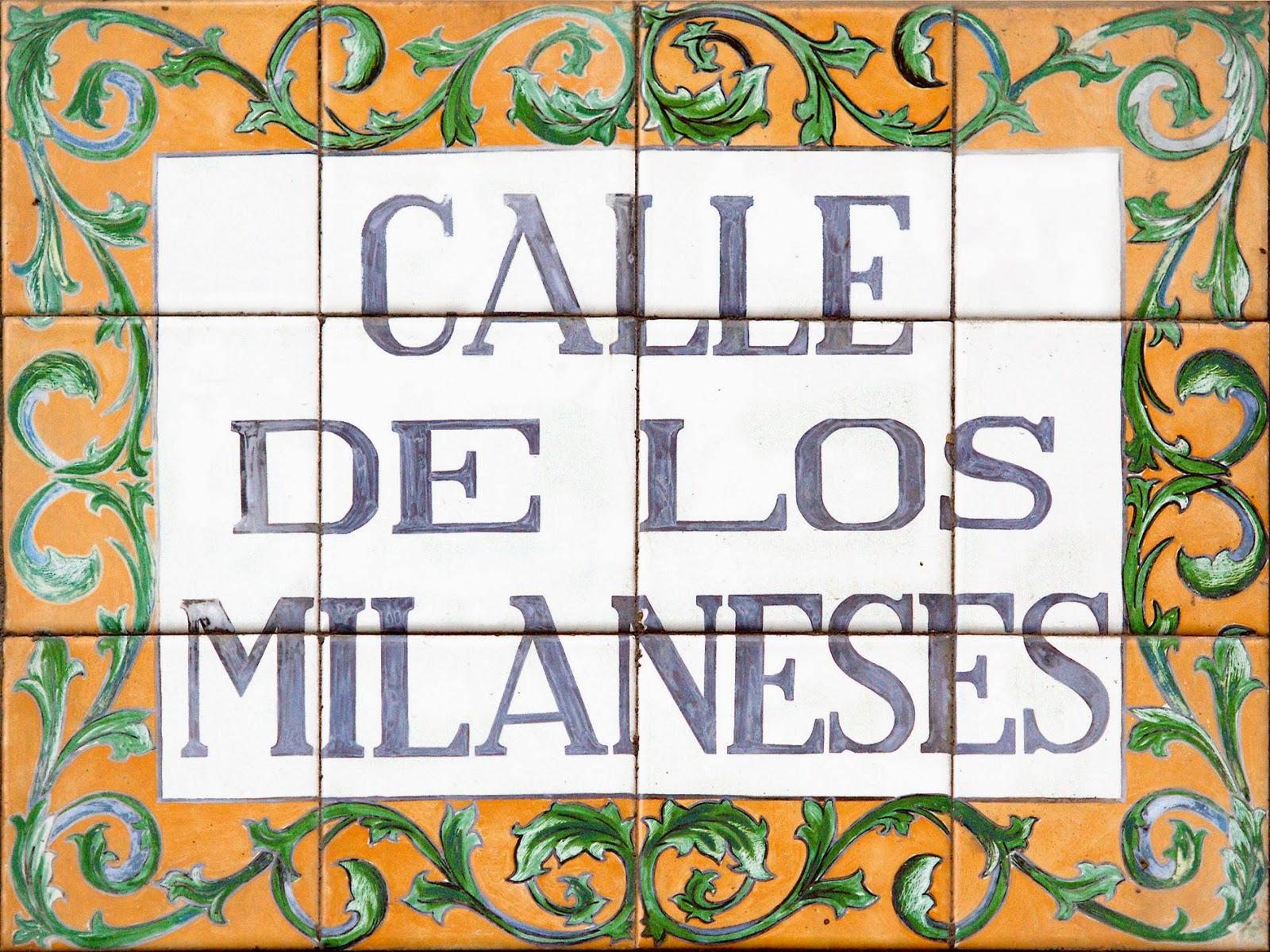 Calle de los Milaneses