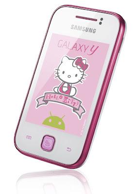 Samsung anuncia Galaxy Y edição Hello Kitty  para Alemanha