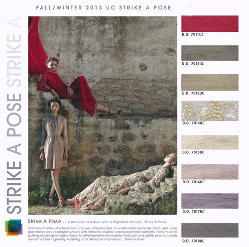 Fall Winter 2013-2014 Color Fashion Trends / Colores Tendencia Otoño