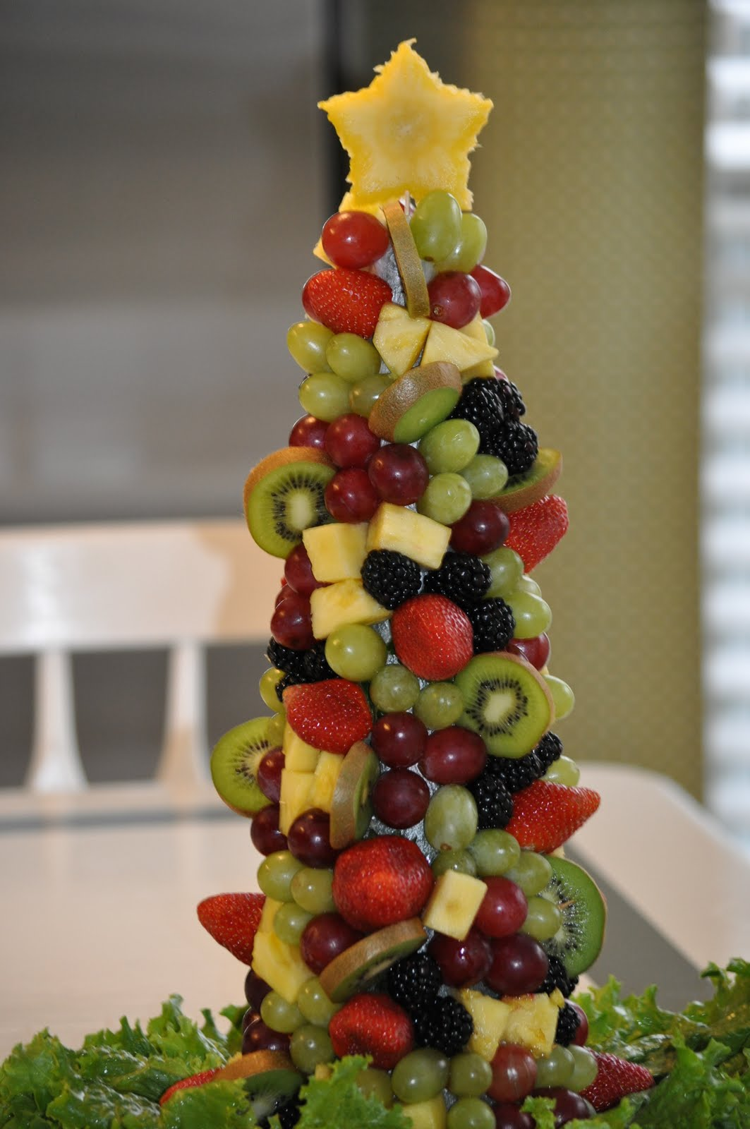 Christmas Tree Decoration Berries : Fruit christmas tree google search it s the most
