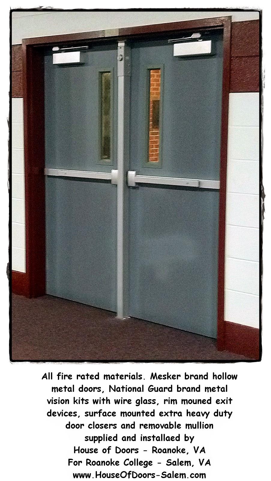 Door lite kits for commercial door - Mesker Door Lite Kits House Of Doors Roanoke Va Fire Rated Hollow Metal Doors And