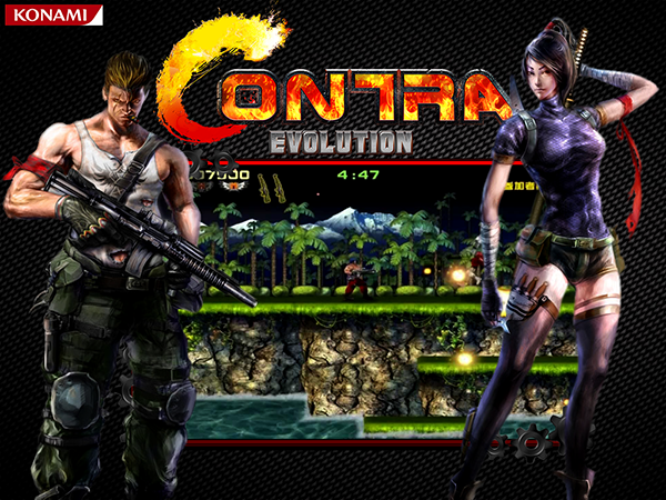 Contra Evolution Revolution HD For PC
