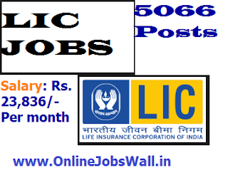 LIC Insurance 5066 Jobs for Apprentice Development Officers 2017-2018