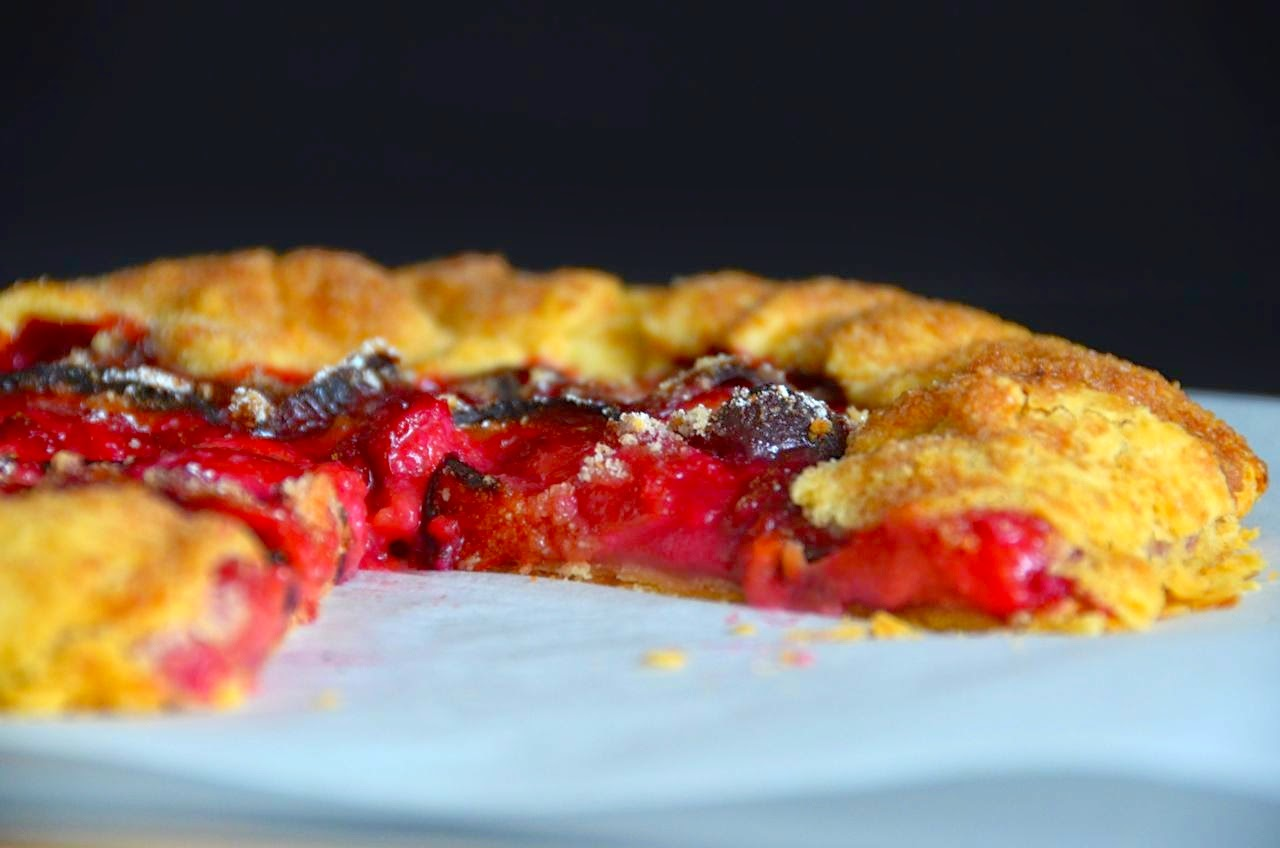 PIZZA FOR BREAKFAST: STONE-FRUIT GALETTE