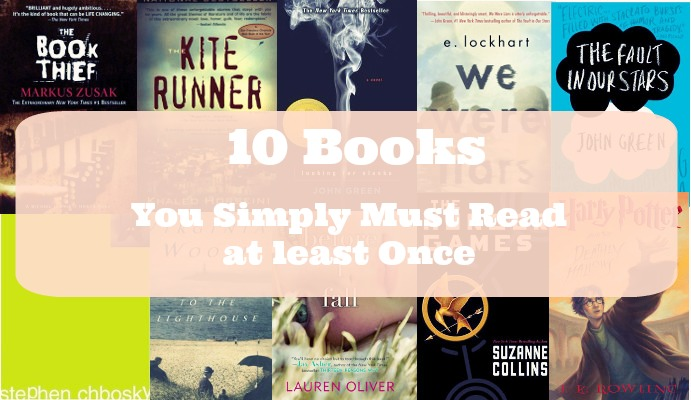 Paperback Planes: 10 Books You Simply Must Read At Least Once