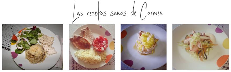Las recetas sanas de Carmen Blasco