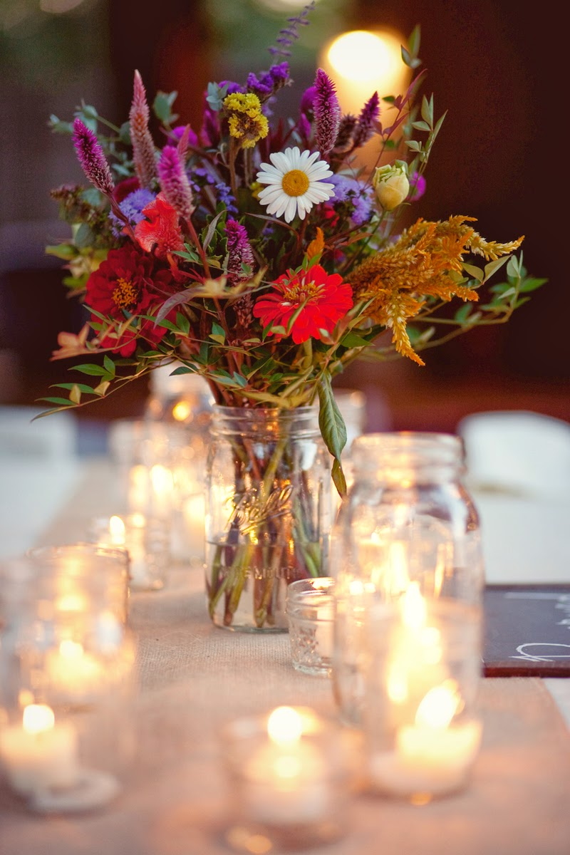 Rustic wedding centerpieces wedding stuff ideas for Wedding floral centerpieces