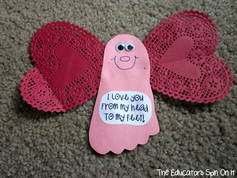 Valentine Crafts for Babies and Toddlers Kiddy Crafty – Toddler Valentine Cards