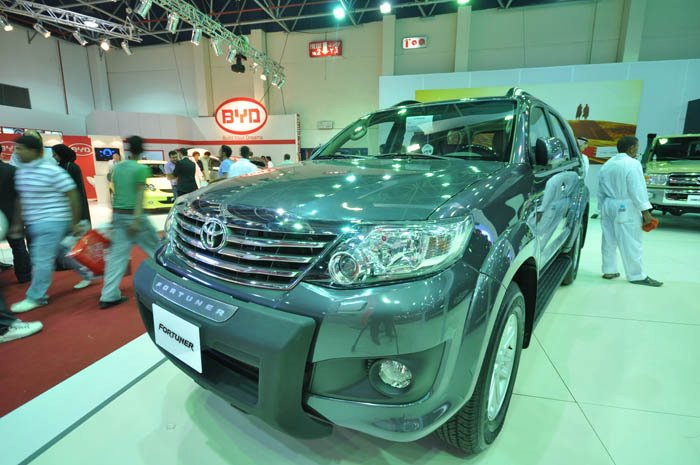 Ksa Toyota Fortuner is loaded with