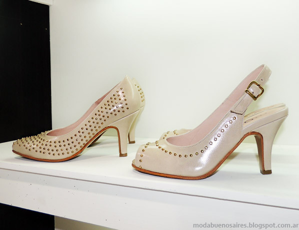Stilettos zapatos verano 2014.