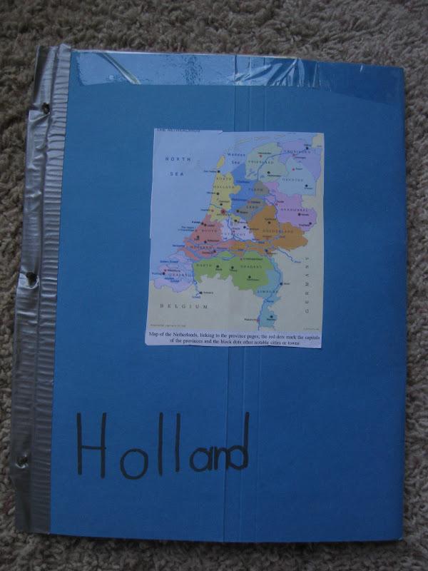 thy word  holland lapbook