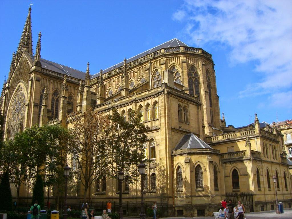 La Catedral del Buen Pastor en San Sebastián