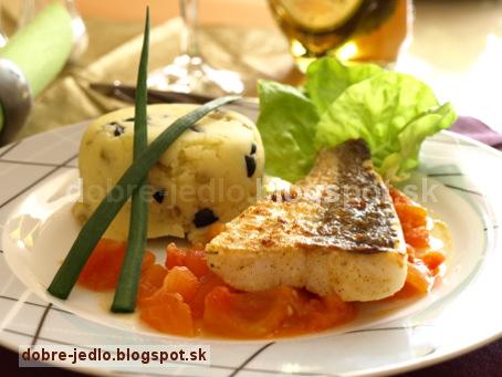 Zubáč na paradajkovom masle - recepty