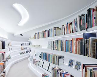 Desain Lemari Buku Minimalis Dan Unik