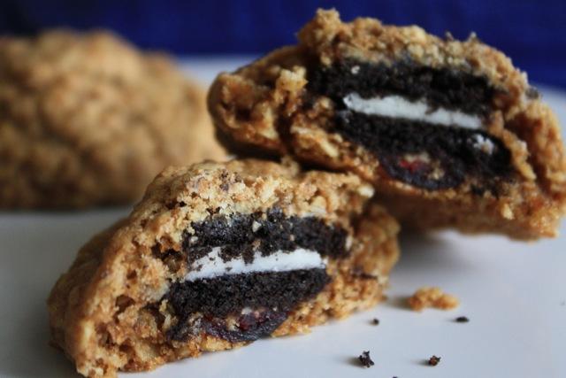 ... Spoon: Oreo Stuffed Oatmeal Cookies: One Cookie Dough, Three Ways
