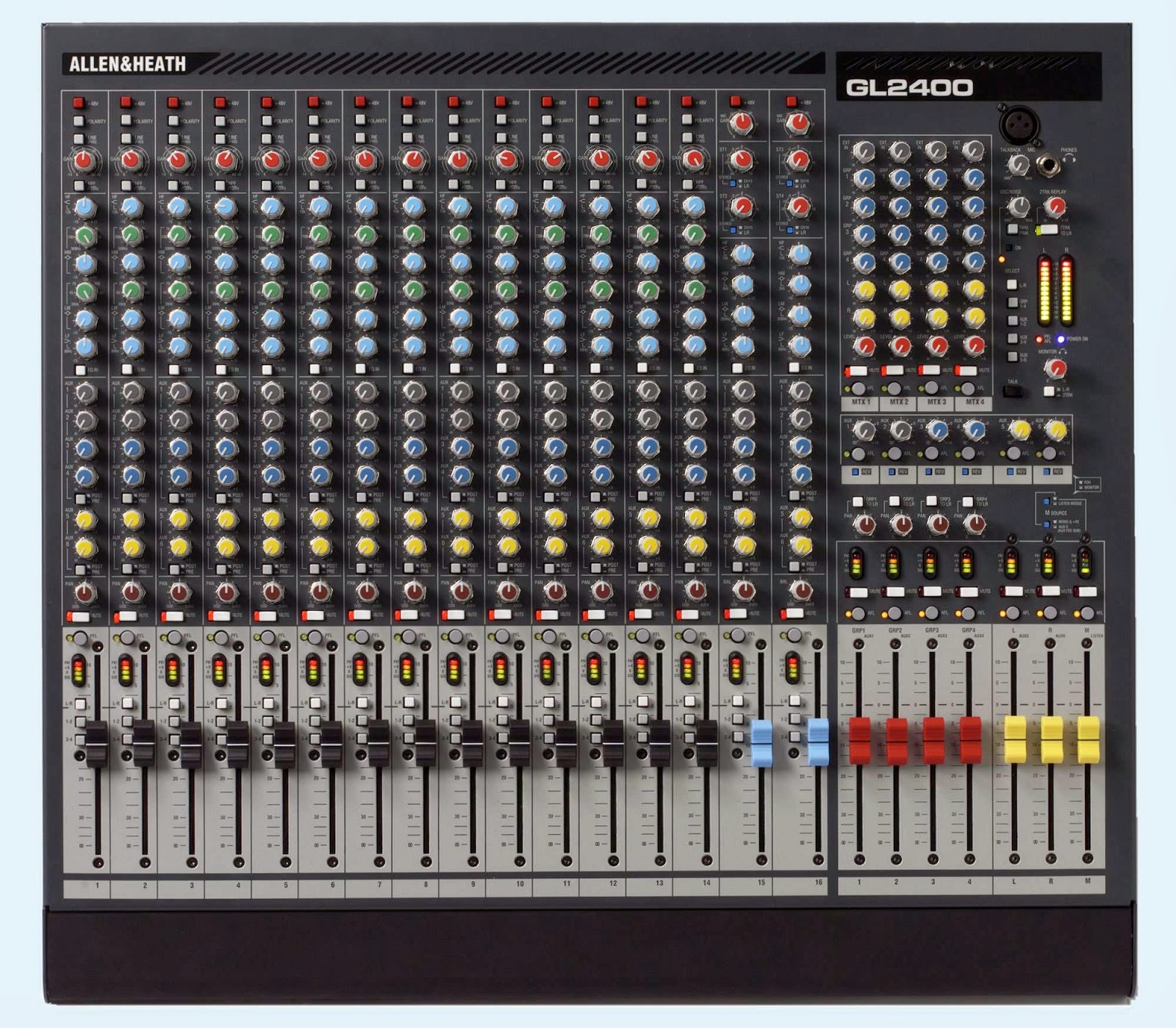 SPEC MIXER ALLEN HEATH GL2400