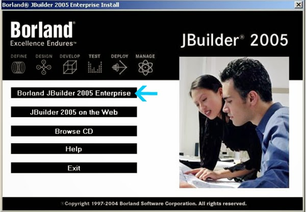 Menginstall dan Menjalankan Jbuilder 2005 Pada Windows 7 - Setup