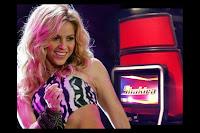 Shakira en la voz estados unidos promocion