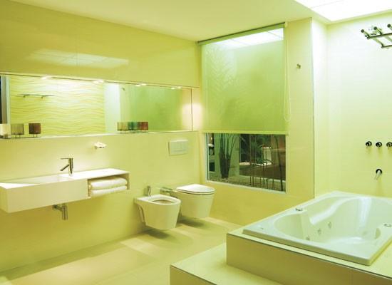 Baño Verde Con Blanco:Mónica Diseños: Baños para Gabriela!!!