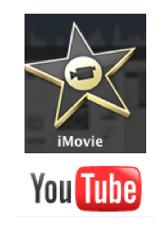 i Movie and You Tube Logos