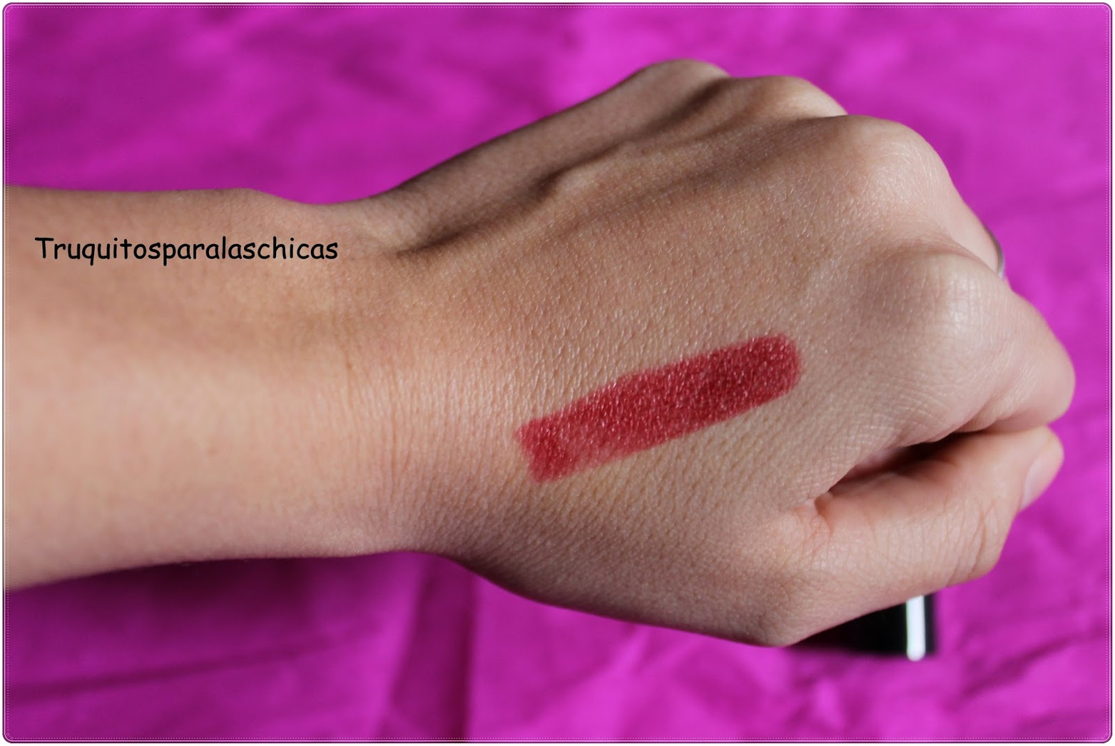 review labial rojo mary kay