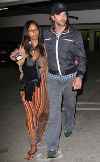 Zoe Saldana and Bradley Cooper