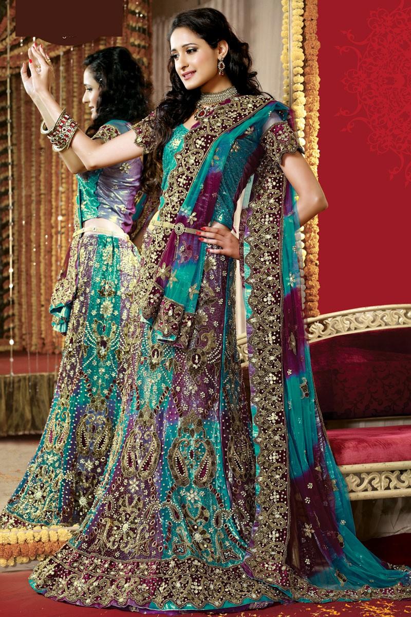 Lehenga Choli Saree Designs Blouse Designs 2014 Style ...