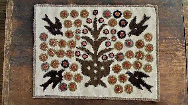 Reproduction Penny Rug - Price $120.00 SOLD