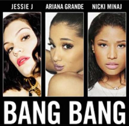 Copertina di Bang Bang il nuovo singolo di Ariana Grande, Nicki Minaj e Jessie J