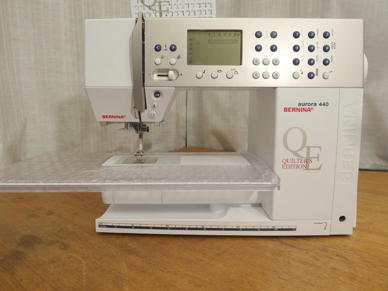 making rebecca lynne: Sewing Machine Adultery: Bernina Aurora 440 ... : bernina sewing machine reviews quilting - Adamdwight.com