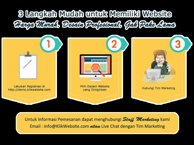 Jasa Pembuatan Web Desain Murah Spesialis Toko Online dan Company Profile
