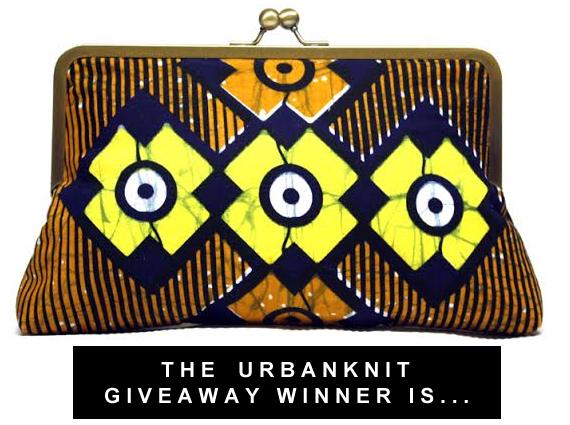 Urbanknit Giveaway Winner