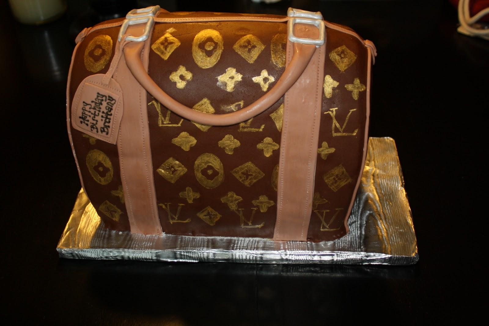 Hock Cakes Llc Louis Vuitton Purse Birthday Cake
