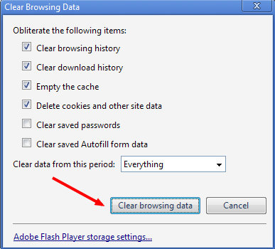 how to remove cache in google chrome