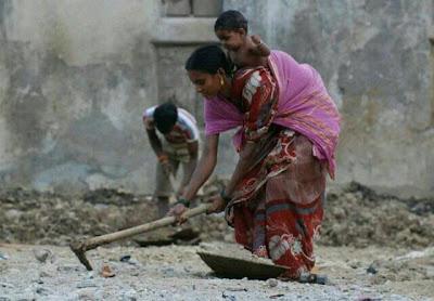 labor in india