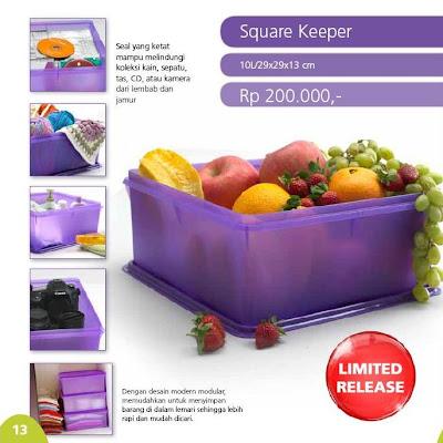 13 Katalog Harga dan Promo Tupperware Terbaru Bulan Agustus 2013