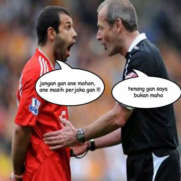 Gambar Meme Lucu Sepak Bola