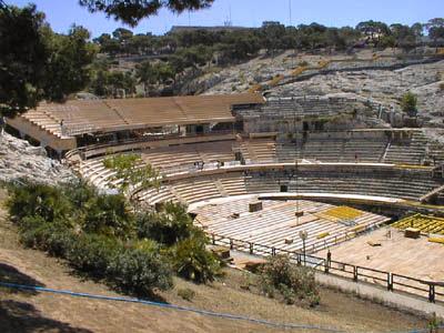 Anfiteatro romano de Cagliari, Italia