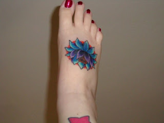 Foot Tattoo Designs vines