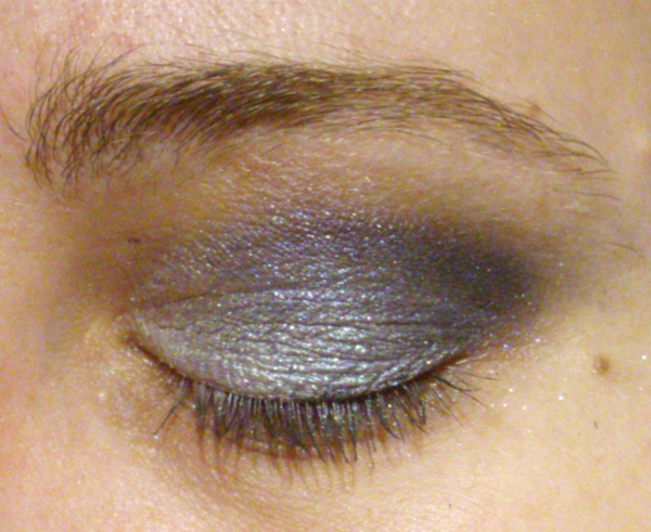 Geek Chic Cosmetics EOTD Blue Look