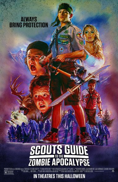 Cuộc Chiến Thây Ma Của Hướng Đạo Sinh - Scouts Guide to the Zombie Apocalypse - 2015