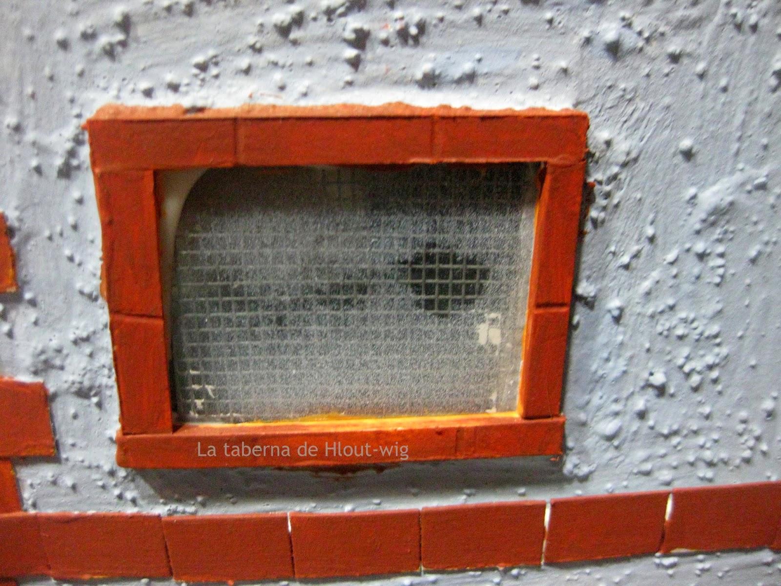detalle de una ventana