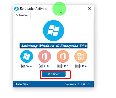 reloader activator windows 7