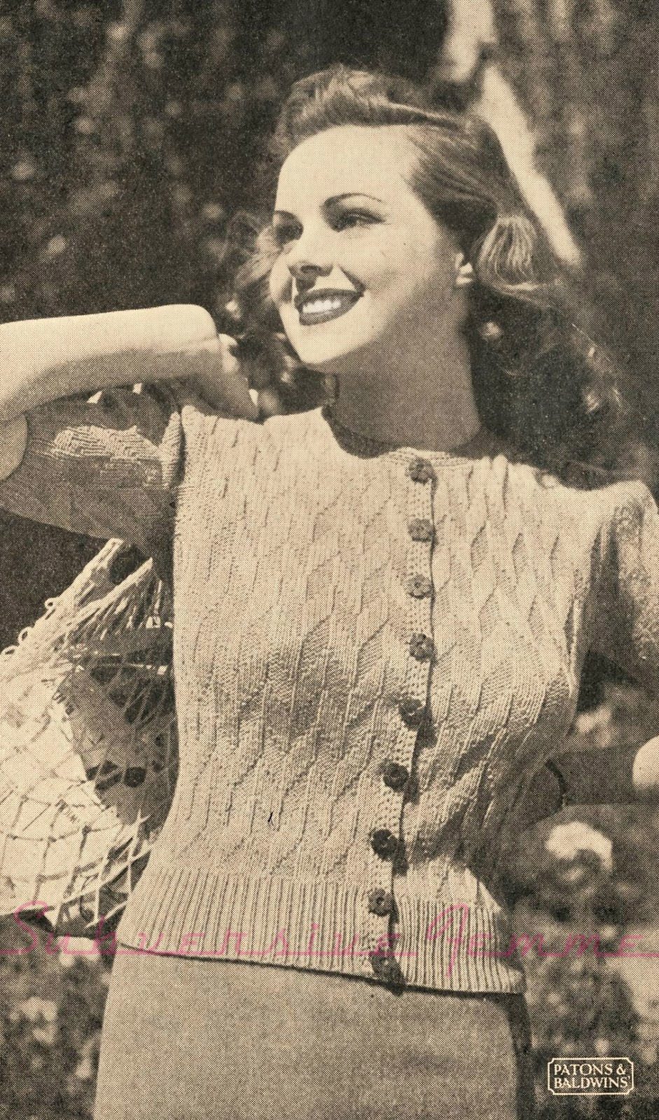 The Vintage Pattern Files: May 2015