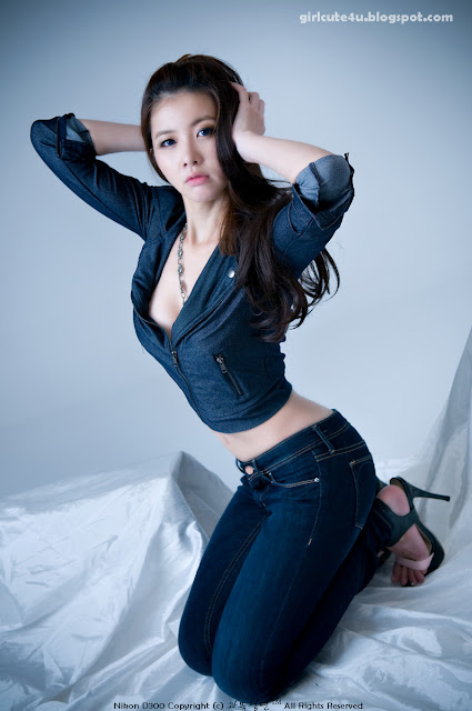 4 Jung Se On-Denim Girl-very cute asian girl-girlcute4u.blogspot.com