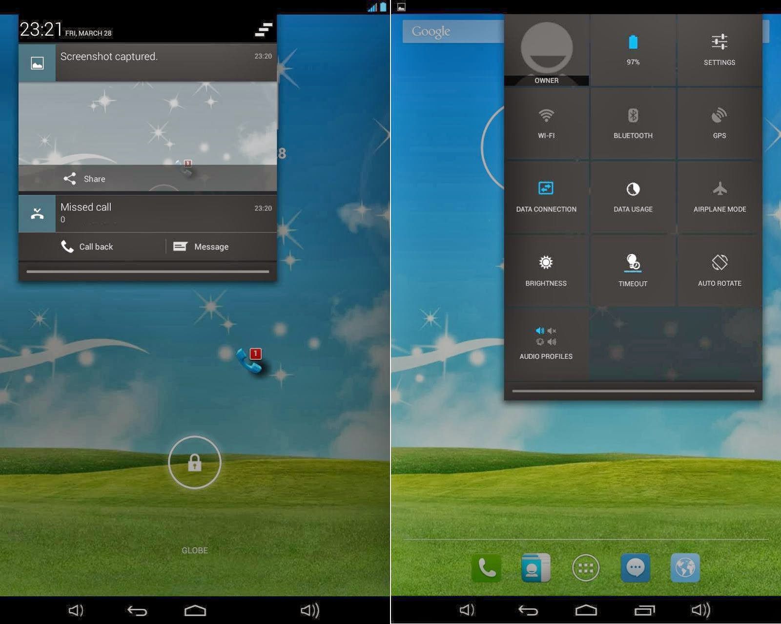 Qube PhoneTab Review: Double The Fun Notification and Quick Toggle Settings