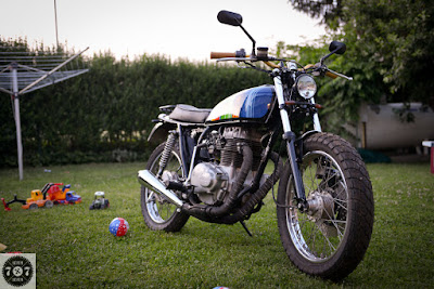 Honda CJ 250 Scrambler by 7sevenCustoms