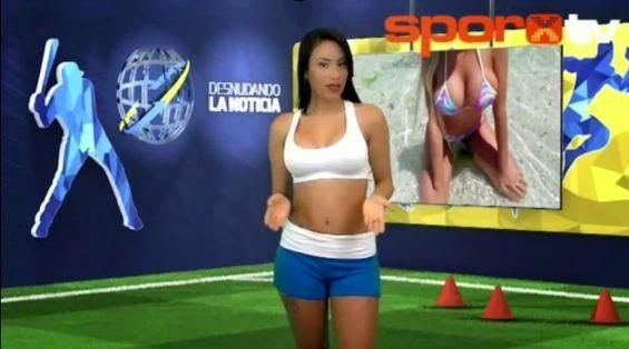 yuvi pallares naked during report on Cristiano Ronaldo