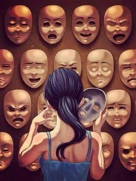 face emotion we wear in modern world